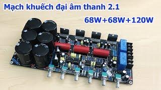 Mạch khuếch đại âm thanh 2.1 TDA7294 68W+68W+120W