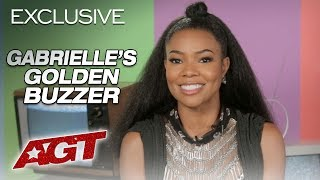 Gabrielle Union Congratulates Her Golden Buzzer Kodi Lee - America's Got Talent 2019