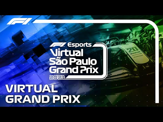 2021 Virtual Sao Paulo Grand Prix! Full Stream Replay