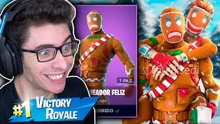 I BOUGHT THE SUPER RARE SKIN OF THE BISCUIT AND I KILLED GENERAL! Fortnite: Battle Royale