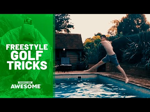 35 Surprising Golf Trick Shots   People Are Awesome
