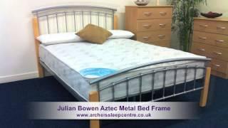 Julian Bowen Aztec Metal Bed Frame