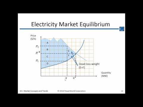 Training M1: Electricity Market Concepts