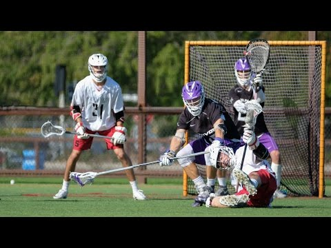 Grand Canyon vs Stanford Lacrosse Highlights 2017