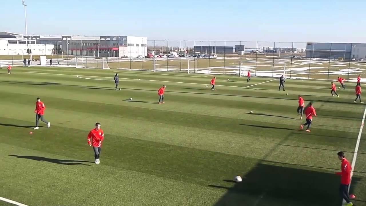 Free Football Session Serbia U15 Training 2