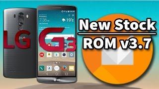 LG G3 | New Stock ROM v3.7 | Android Marshmallow [Magisk] [v30a]
