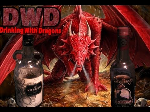 Kraken Black Spiced rum VS Gosling's Black Seal