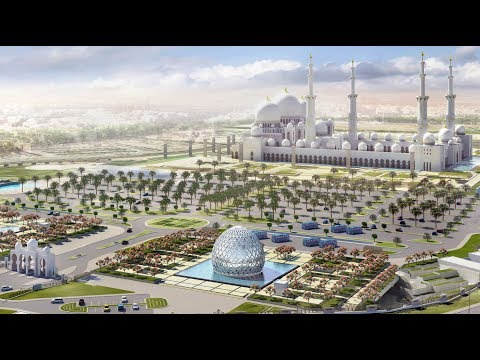 Abu Dhabi city beautiful view