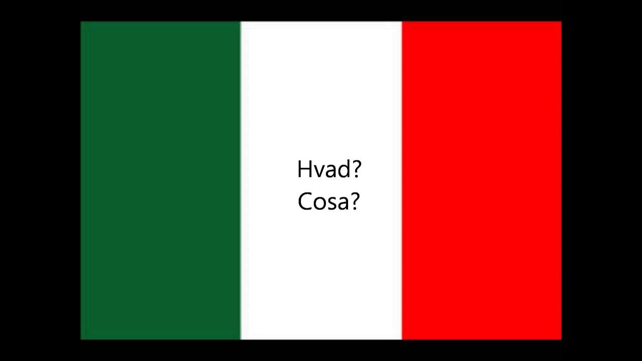 150 Italienske Sætninger For Begyndere