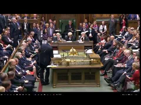 Cabaret time in British Parliament