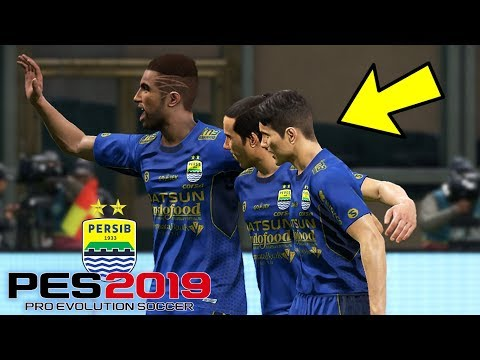 LAGA PERTAMA PERSIB BANDUNG DI LIGA 1!!! - MASTER LEAGUE #2 (PES 2019 INDONESIA)