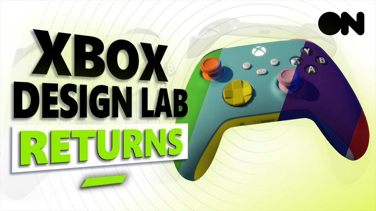 Xbox Design Lab Is BACK | How To Design Your Own Custom Xbox Controller!