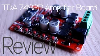 tda 7492p bluetooth amplifier board review
