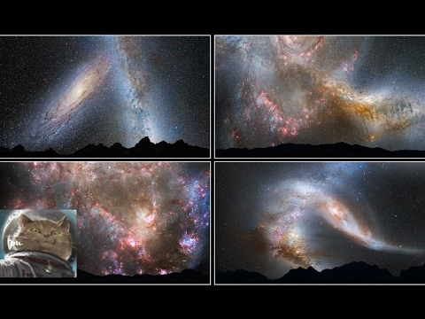 The Most Extreme - Milky Way and Andromeda Galaxies Collision Simulated Mysteries 💎 Documentary