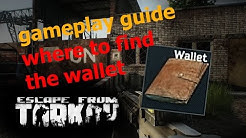EFT [Alpha] Guide - where to find the Wallet - Escape from Tarkov