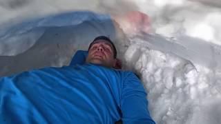 Kar Mağarası İglo Nasıl Yapılır: Plates Topuyla