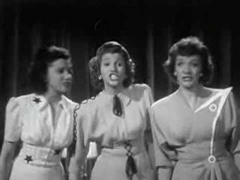 Andrews Sisters - Steppin' Out Tonight