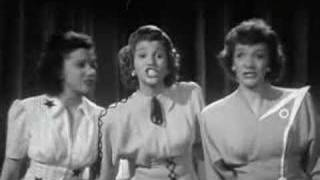 Andrews Sisters - Steppin