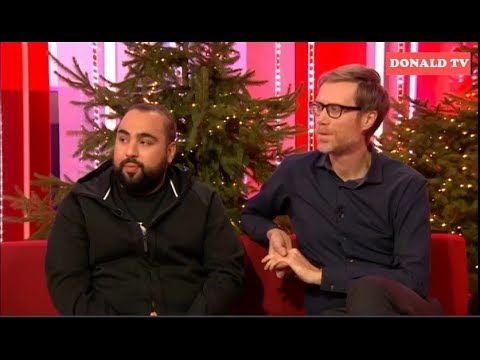 BBC The One Show 21/12/2018  Stephen Merchant and Asim Chaudhry