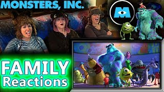 MONSTERS, INC.   FAMILY Reactions   Fair Use
