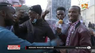 MANIFESTATION: SERIGNE MOKHTAR MBACKE RÉAGIT EN DIRECT PAR TELEPHONE