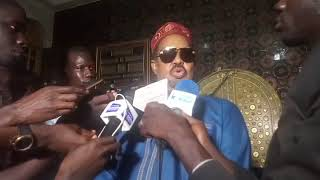 Live déclaration Ahmed Khalifa niasse courtesy Buur Guede