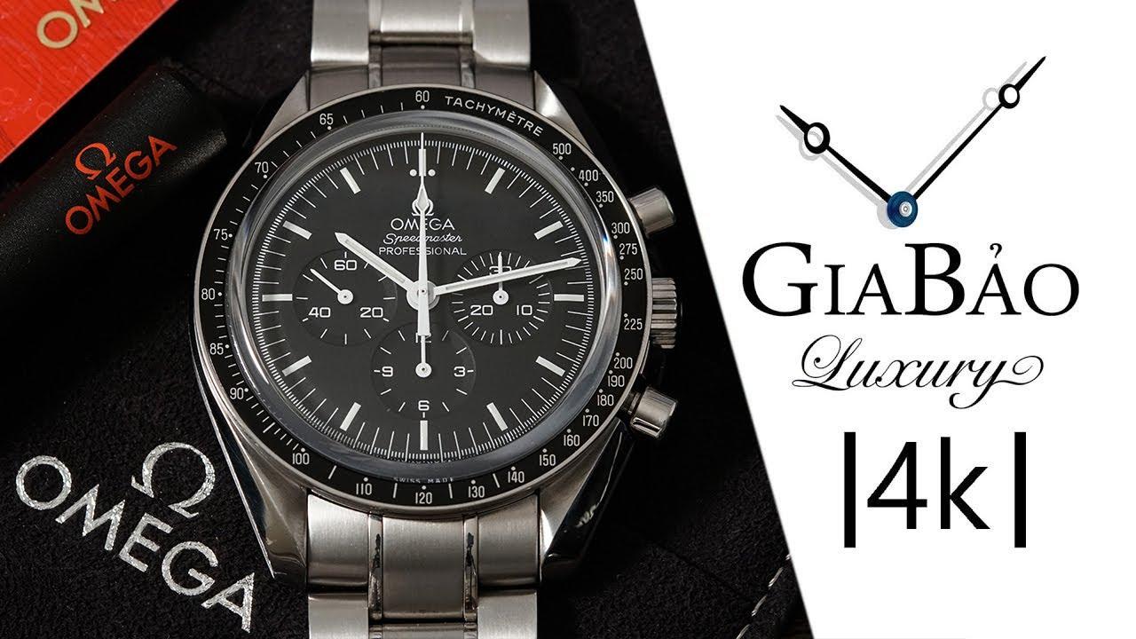 Review trên tay đồng hồ Omega Speedmaster Moonwatch Professional Chronograph 42mm