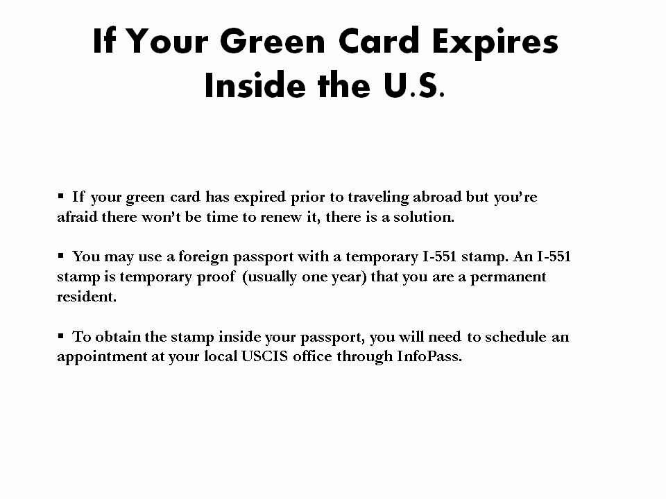 3 Big Problems with an Expired Green Card - YouTube