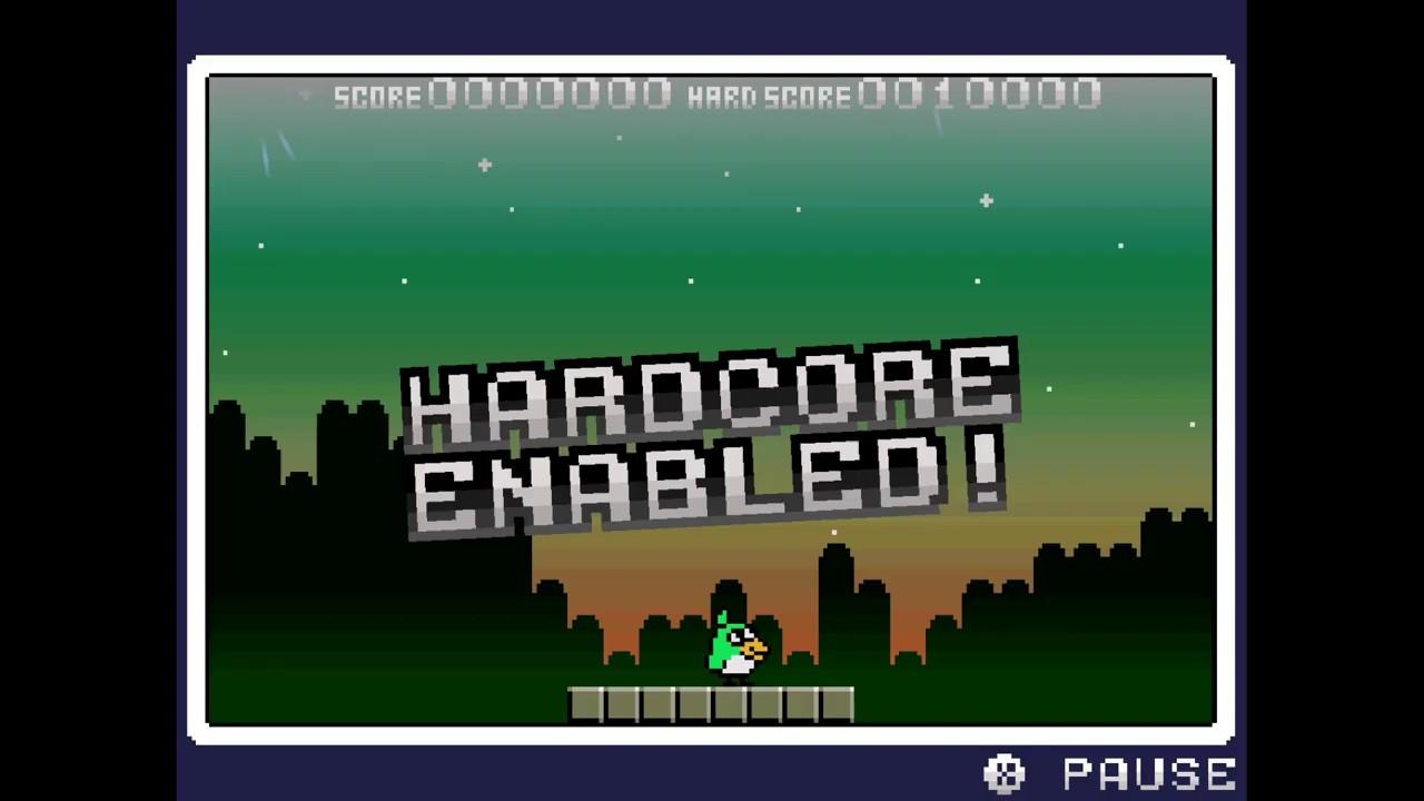 Pyoro 3 hardcore game play