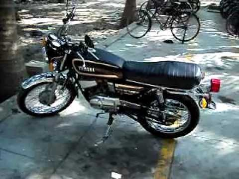 YAMAHA RX 135 CONVERTED TO RD 350.AVI