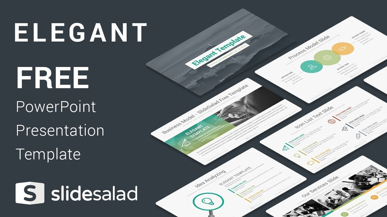 elegant free download powerpoint templates for presentation youtube