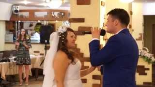 Трогательный  подарок-сюрприз невесте от  жениха на свадьбе