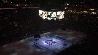 Stanley Cup Final Intro Game one NY Rangers vs LA Kings 6-4-14