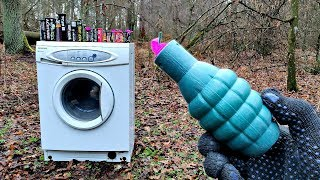 🔥BIG FIRECRACKERS vs WASHING MACHINE🔴