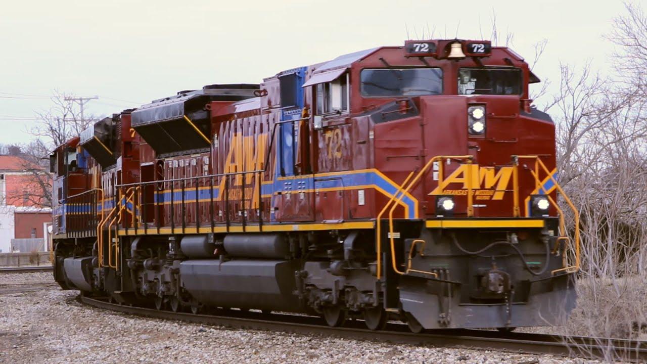 HD: Big Engines On A Little Railroad: Arkansas & Missouri SD70ACes