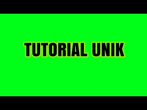 TUTORIAL UNIK |CARA MEMASUKKAN TALI KE KOLOR Mp3