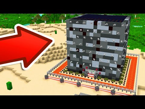 BUILDING THE WORLD'S SAFEST MINECRAFT HOUSE!!