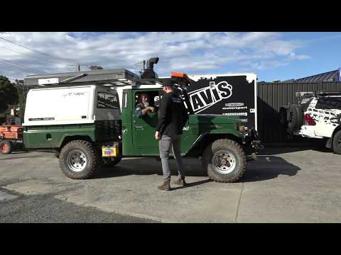 Milo 2  -  Filling The Gap Brown Davis Long Range Tank and Wheel Carrier