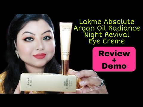 *new*-lakme-absolute-argan-oil-radiance-night-revival-eye-creme-review-&-demo