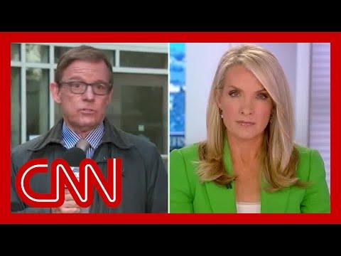 'That's not true': Fox News reporter fact-checks host on air