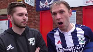 West Brom fans call for Dean Smith after final day defeat
