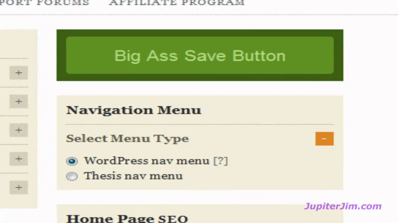 thesis search box in menu 101 ways to design thesis theme to create awesome website  add menu separator for each menu tab add google custom search box in navigation add thesis search box.