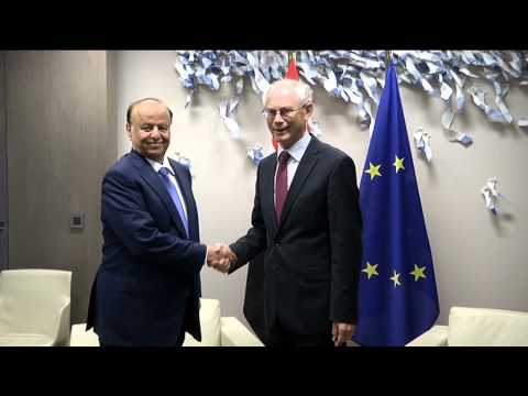 Meeting with the President of Yemen, Abd Rabbo MANSOUR HADI