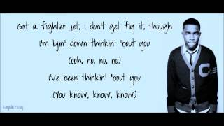 Frank Ocean- Thinking About you (Lyrics On Screen)