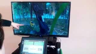 Ćwiczenia z symulatorem na kursie operatora harwestera