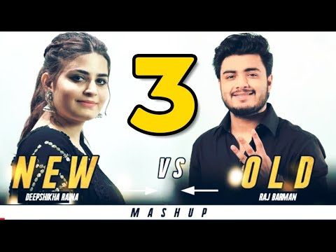 New Vs Old 3 Bollywood Songs Mashup | Raj Barman Feat. Deepshikha | Bollywood Songs Medley