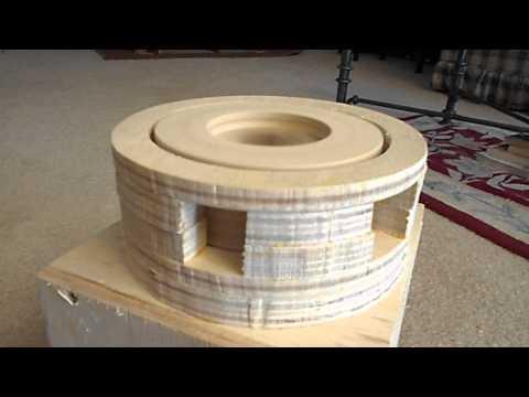 Homemade Wooden Air Raid Siren