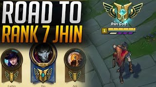 ROAD TO CHAMPION MASTERY 7 JHIN [ League of Legends ]