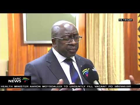 Finance Minister Nhlanhla Nene on the economic stimulus package