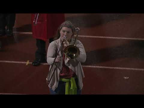 Killingly High School Marching Band performance 11/22/19